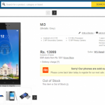 For 1,00,000 registrations which Flipkart received, less than 10,000 Mi3 units were available