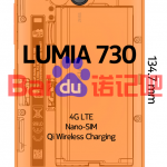 Lumia 730 specifications leaked, Nano Sim, Qi Wireless charging, 4G LTE confirmed