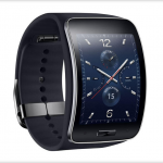 Samsung's Tizen powered gear smartwatch has a curved SUPER AMOLED display