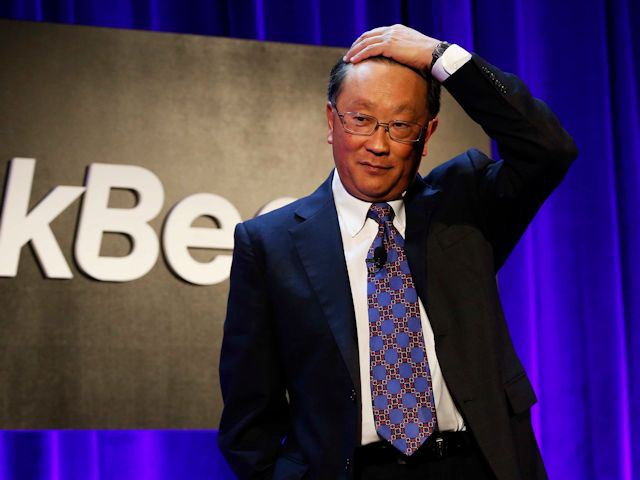 Blackberry CEO Jack Chen