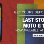 Motorola phases out Moto G in India, last stock available at Flipkart for ₹ 11,999