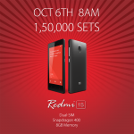 A staggering 1,50,000 Redmi1S units to go on sale tomorrow at Flipkart