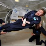 Stephen Hawking is heading to the outer space, courtesy Virgin Galactic