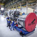 Here is your first look at Blue Origin's newest BE4 rocket engine