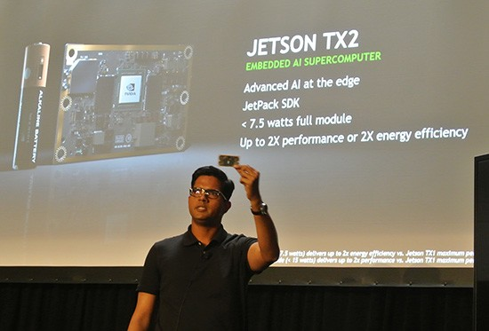 Nvidia unveils Jetson TX2 to empower smart appliances and drones