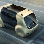 Volkswagen shows off its first futuristic pod-like self-driving concept car 'Sedric'