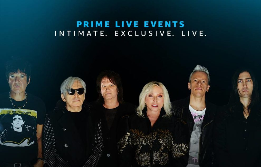 Amazon kicks off London live events series with Blondie gig