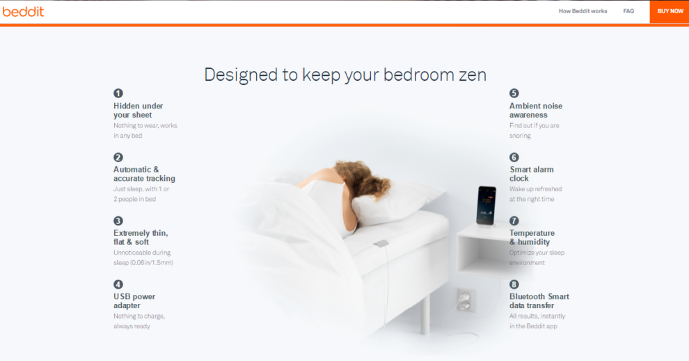 Apple acquires Beddit, a sleep tracking gadget and app