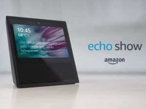 echo show, amazon