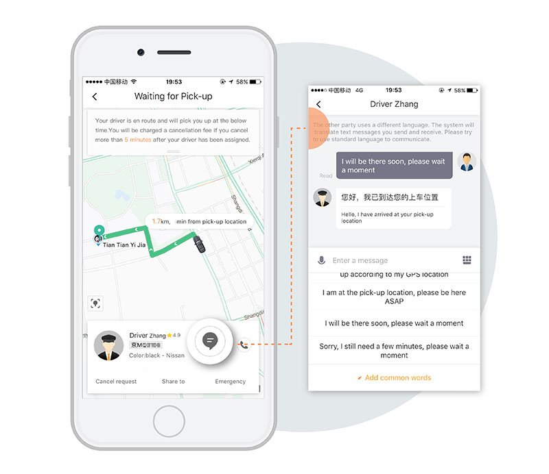 Didi rolls out bilingual ride-hailing services in China