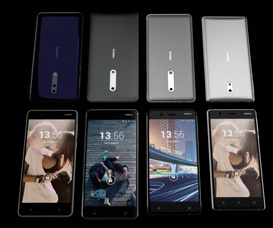 Two unannounced Nokia smartphones spotted in a video