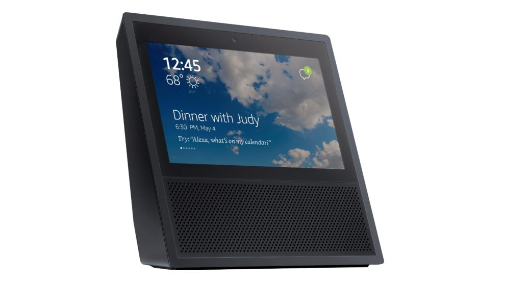 Leaked Image Shows Amazon's New Touchscreen Echo Device