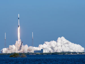 SpaceX successfully launches yet another Falcon rocket, recovers booster but misses on fairing