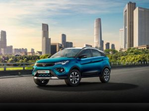 Tata Motors launches the Nexon EV electric car with 300Km range, 0-60kmph in 4.6s