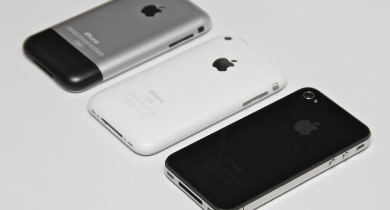 Apple old iPhones
