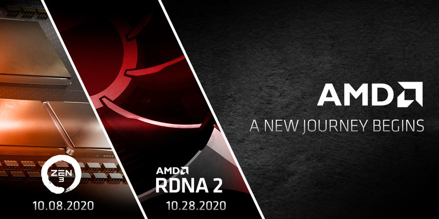 AMD's new era coming: Zen 3 and RDNA 2 launching in October