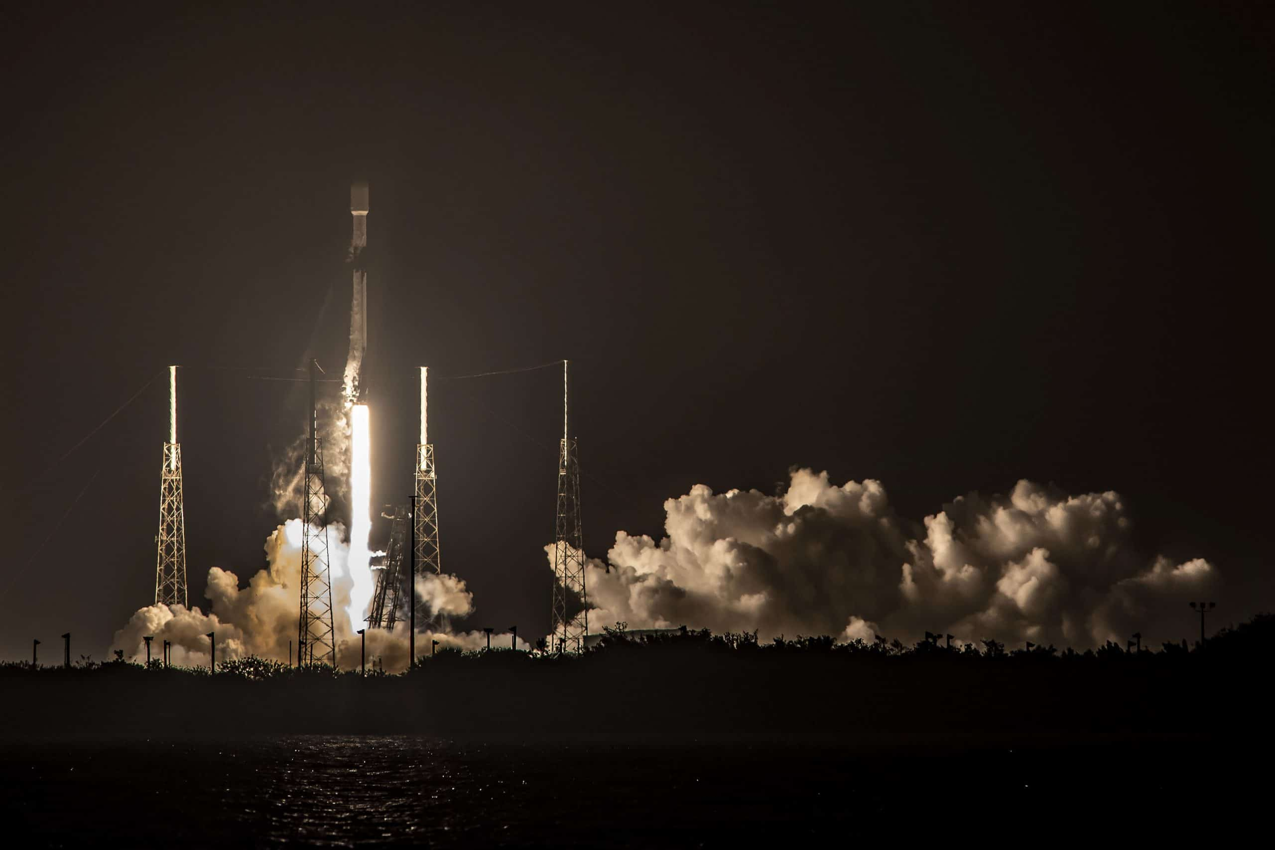 SpaceX successfully launches a Falcon 9 booster for a record seventh time