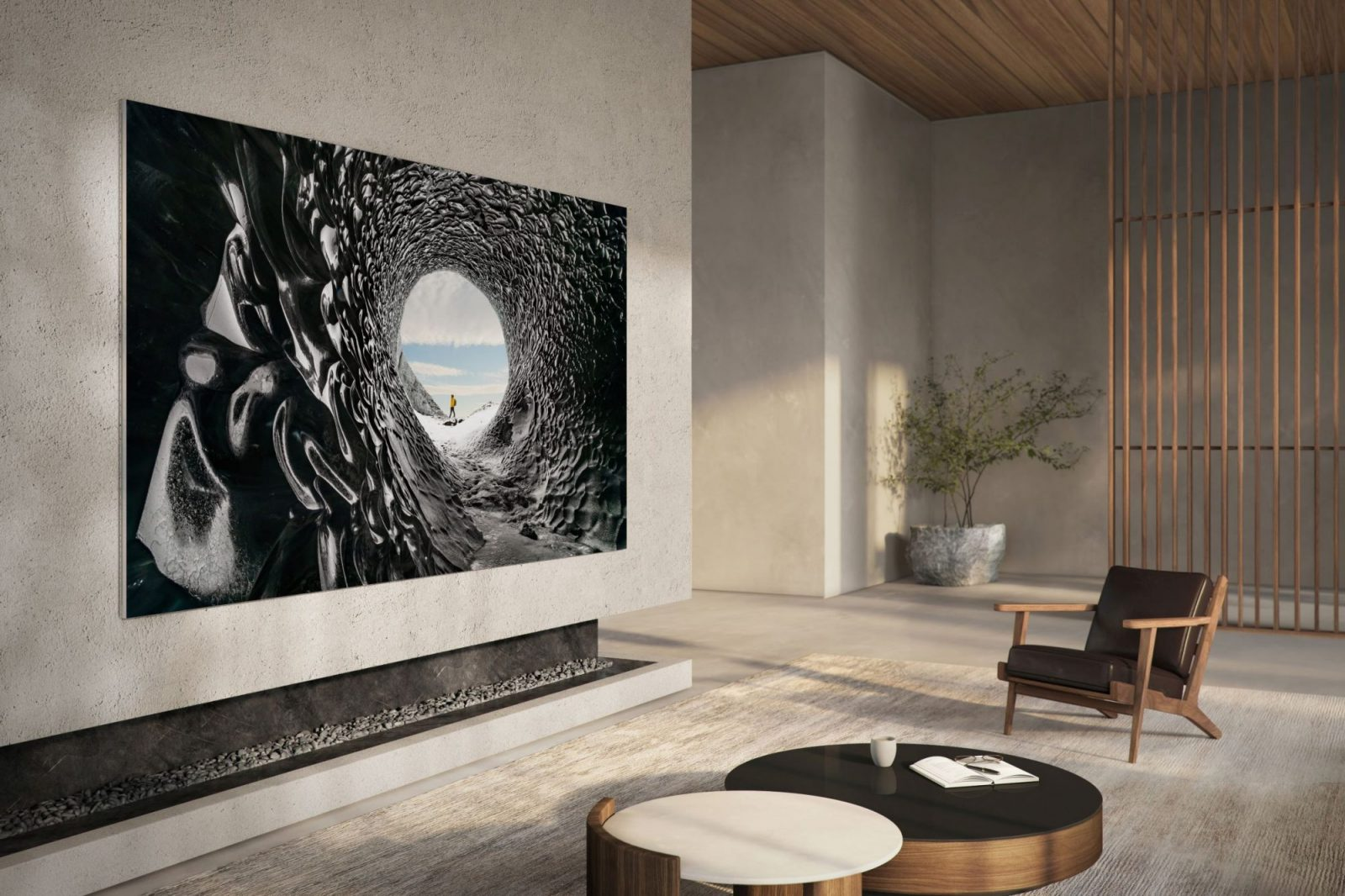 Samsung's new 110-inch MicroLED TV will be available early 2021