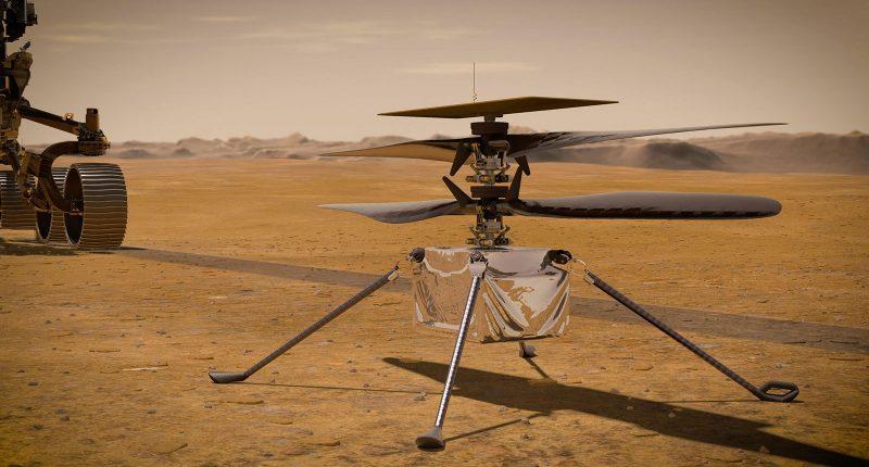 NASA Mars helicopter Ingenuity